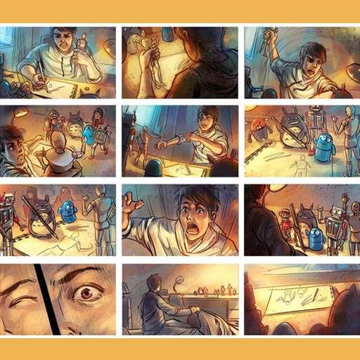 Animatics & Storyboarding