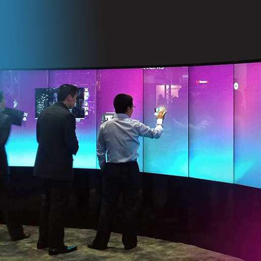 Interactive Touch Walls